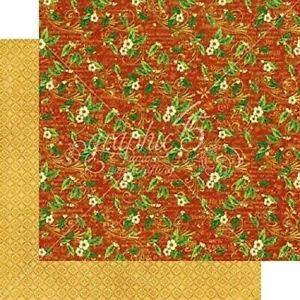 Graphic 45 St. Nicholas 12 x 12 Cardstock PICK Christmas Bells Holly Santa Sweet