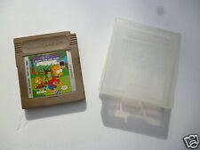 ♠ Jeu Nintendo Game Boy Bart Simpsons Escape From Camp Deadly Avec Boite