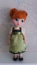 """DISNEY Store ANNA Animator doll 15"""", congelati, completo di scarpe!"""