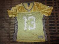 Kurt Warner #13 Arizona Cardinals NFL Reebok Jersey Womens LG L