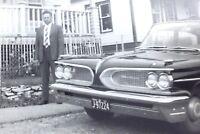 1959 Pontiac Bonneville Classic Automobile Car Vehicle Photograph Vintage H052
