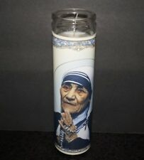 Saint MOTHER TERESA of Calcutta Prayer Altar Church Memorial CANDLE Catholic