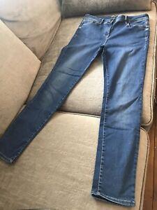 Ladies Size 14 Long Sculpt & Lift Skinny Jeans - M&S
