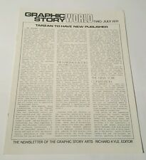 Graphic story world # 2, 1971 newsletter