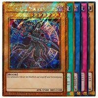 Yu-Gi-Oh! Karten Sammlung - 20 Karten - Super-, Ultra-, Secret- und Gold Rare