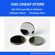 3×Co2 Laser Mo Reflective Reflector Mirrors Dia 25mm Laser Engraving Machine