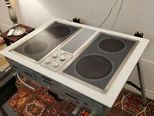 """GE JP389W Cooktop With Downdraft Electric 30"""" with Grill!"""