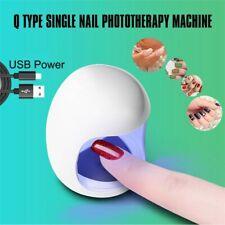 Mini Q Portable USB Interface Single Nail Phototherapy Machine Nail Polish T