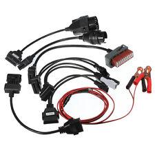 OBD2 OBD car diagnostic adaptor Interface Cables kit 8pcs  X9J3 J2J6