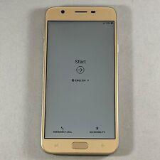 Samsung Galaxy J7 Refine Boost Mobile 32GB Gold SM-J737P Android Smartphone