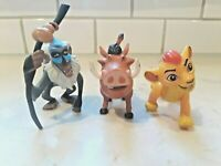 Disney Lion King Action Figure Lot of 3 Mattel Lion Guard