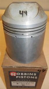 1960-1966 Matchless G80CS 500cc NOS 86mm STD bore Robbins bare piston       - 44