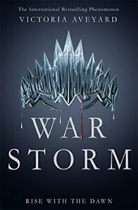 War Storm (Red Queen) by Victoria Aveyard Book The Cheap Fast Free Post