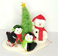 Hallmark Jingle Pals 2006 Singing Snowman Penguin Rock Around the Christmas Tree
