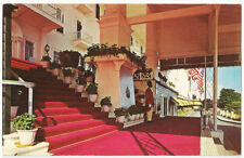 Michigan  Mackinac Island Entrance to the Grand Hotel Vintage Postcard