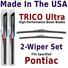 Buy American: TRICO Ultra 2-Wiper Blade Set fits listed Pontiac: 13-20-19