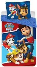 PAW Patrol Baby-bettwäsche 100x135 40x60 Baumwolle Kinderbettwäsche Wendemotiv