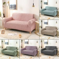 Bubble Elastic Slipcovers For Living Room Furniture Protector 1/2/3/4 Seater