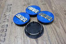 Original BBS 3D Emblem 70,6mm Blau Gold Nabendeckel Felgendeckel 56.24.120