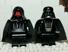 Classic original LEGO Star Wars Darth Vader and Darth Maul MINIFIGURES