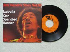 "45T 7"" JIMI HENDRIX ""Story vol 10 - Izabella"" BARCLAY 061.487 FRANCE 1972 /"