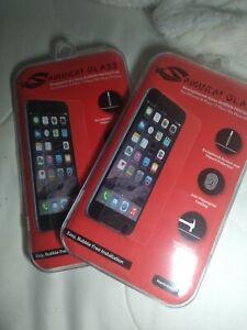 2X Samurai Glass - iPhone 6/6S/7/8 Plus Tempered Glass Screen Protector