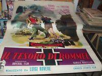 The Tesoro By Rommel Manifesto 2F Original 1955