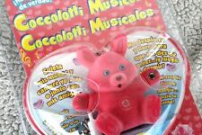 Coccolotti musicotti Bear: Rosy! pink, wirklich spricht & singt! BRAND New Old Stock