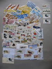 SPAIN, lot 62 different ATM vendingmachine stamps used + doubles