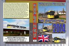 2972. Manchester.UK.Trams. November 2014. The new line to the airport, trial run