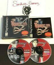 Resident Evil 2 PS1 Signed By Director Kamiya Complete with manual!