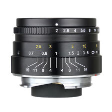 7artisans 35mm F2.0 Manual Fixed for Leica M Mount M3 M6 M7 M8 M9 M240 M10