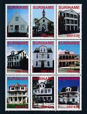[SU1542] Suriname Surinam 2008 Buildings  MNH