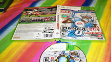 Madden NFL 13  (Xbox 360, 2012) USED FOOTBALL VIDEO GAME FREE USA SHIPPING FUN