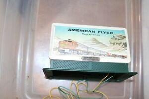 AMERICIAN FLYER 561  DIESEL HORN BILL BOARD