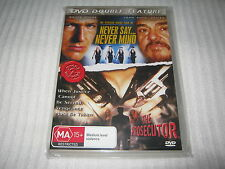 Never Say Nevermind / The Prosecutor - Brand New & Sealed - All Regions - DVD