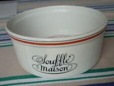 Porcelaine d'Auteuil Ligne Bistrot Lobjoy Moule Plat Soufflé Maison