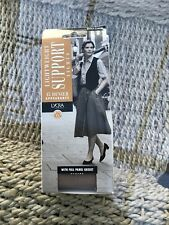 Vintage Woolworths Lightweight 15 Denier Support Tights, XL, Natural, BNWT