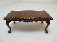 Dollhouse Miniatures Furniture 1/12: 1022mwn Walnut Coffee Table