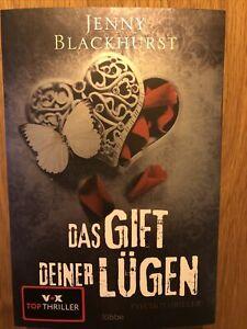 Jenny Blackhurst Das Gift deiner Lügen // 9/2020 // Psychothriller