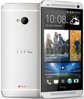 Nuevo HTC One M7 32GB 3G GPS WIFI 4.7'' Libre Android OS TELEFONO MOVIL Plateado