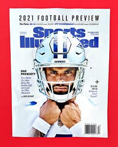 Sports Illustrated  2021 Football Preview NFL Dak Prescott Dallas Cowboys