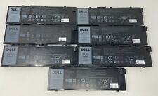 Lot of 7 Dell Oem Precision 7510 / 7710 9-cell 91Wh Batteries Mfkvp Low Health