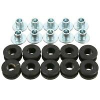 10pcs Motorcycle Rubber Grommets Bolt Kit Set for Honda Yamaha Suzuki Fairing UK