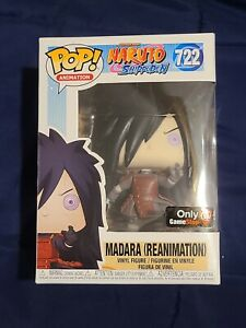 Funko Pop! Naruto Shippuden - Madara Uchiha Reanimation #722 GameStop Exclusive