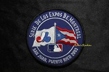 MONTREAL EXPOS 2003 PUERTO RICO MLB PATCH -  4 IN