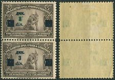 59.Yugoslavia 1922 Disabled ERROR overprint upper stamp 8 instead of 3 MH mi 165