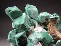 Malachite after Azurite, Tsumeb, Namibia