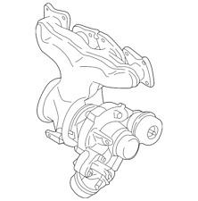 Genuine Volvo Exhaust Manifold 36012431