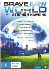 BRAVE NEW WORLD WITH STEVEN HAWKING - NEW & SEALED REGION 4 DVD FREE LOCAL POST